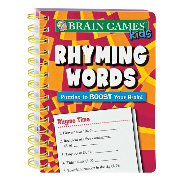 Mini Brain Games™ For Kids Rhyming Words