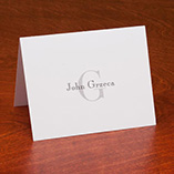 View All - Personalized Block Note Cards Set of 25