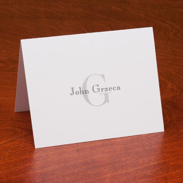Personalized Block Note Cards Set of 25