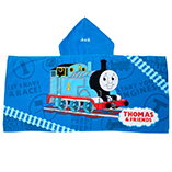 Children's Products - Personalized Thomas the Train Hooded Kid's Towel