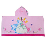 Apparel, Totes & Accessories - Personalized Princess Hooded Kid's Towel