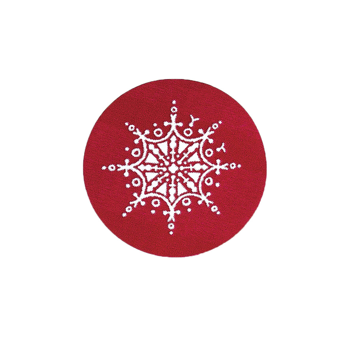 Red Snowflake Seals Set of 250-346825
