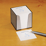 Home Office - Personalized Note Sheets with Cube