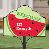 Home - Personalized Magnetic Watermelon Yard Sign
