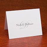 View All - Personalized Script Note Cards - Set Of 25