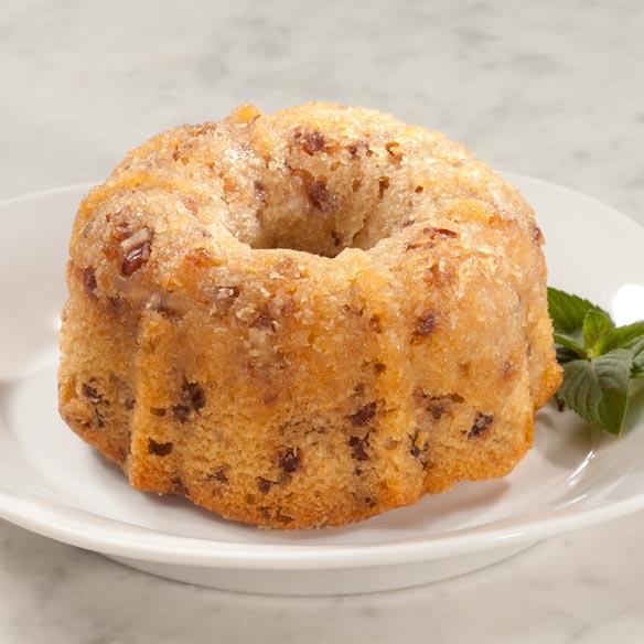 Bourbon Pecan Cordial Cake