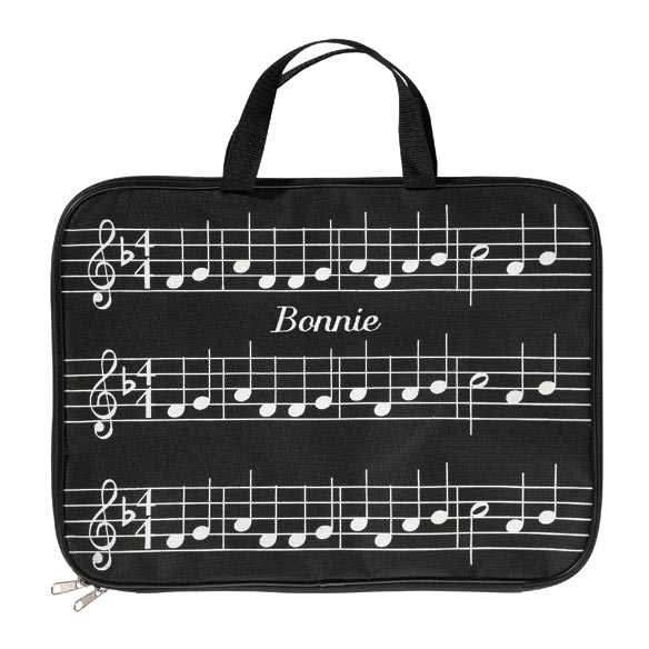 Personalized Music Briefcase