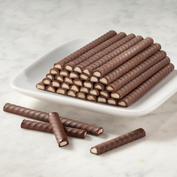 Belgian Mint Dark Chocolate Sticks