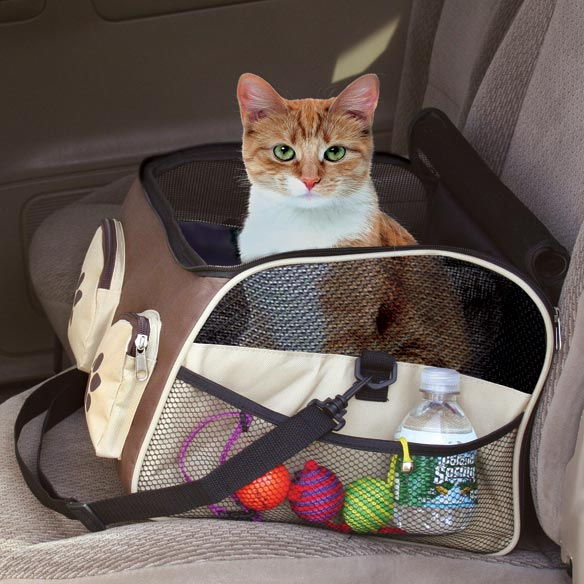 3-In-1 Pet Booster, Car Seat & Carrier