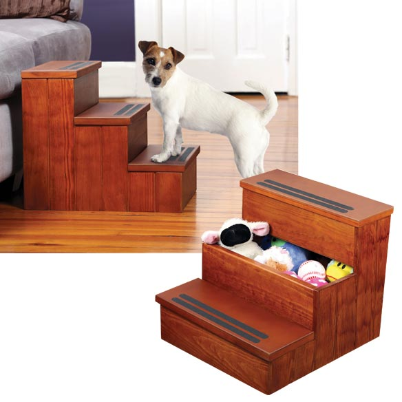 Dog Steps N' Storage