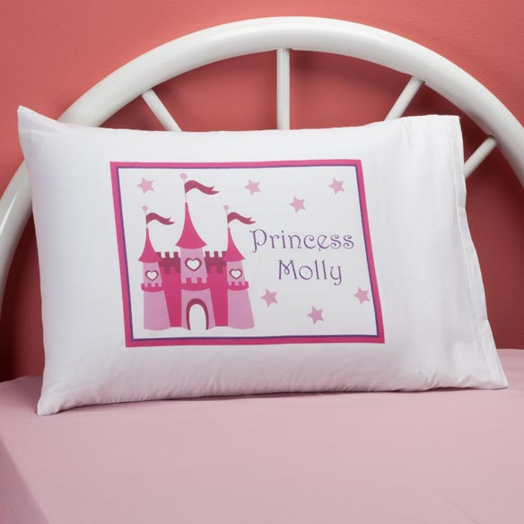 Personalized Princess Castle Pillowcase