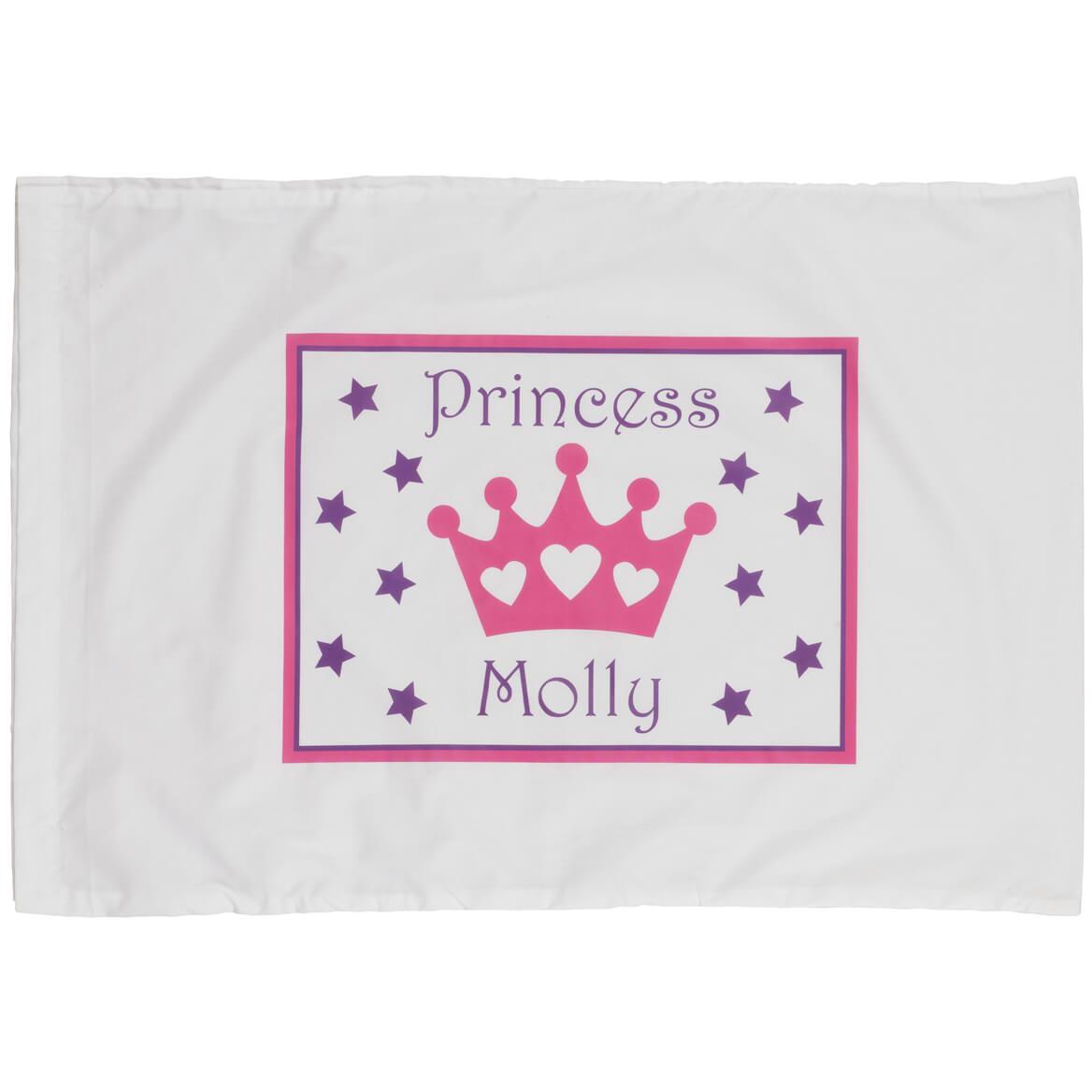 Personalized Princess Crown Pillowcase