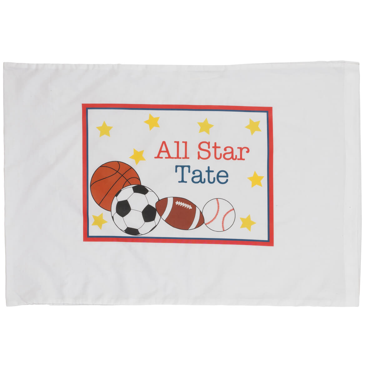 Personalized All Star Pillowcase