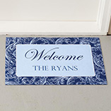 Frontdoor & Mailbox - Personalized Scroll Doormat