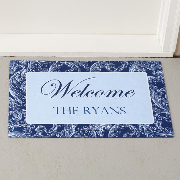 Personalized Scroll Doormat