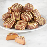 Chocolate Shoppe - Milk Chocolate Covered Banana Foster Caramels