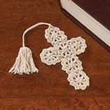 View All Books & Reading - Crocheted Cross Bookmarks Set of 10