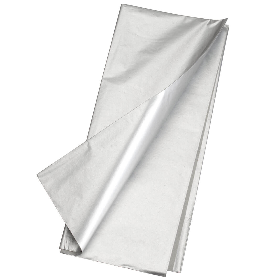 Silver Tissue Paper-Set of 16