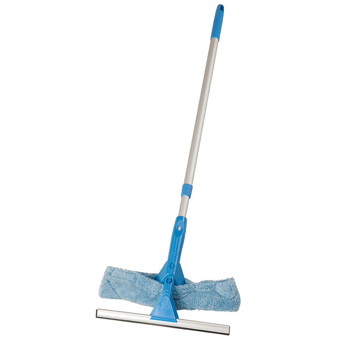 Telescoping Microfiber Cleaning Tool and Squeegee Set