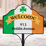 St. Patrick's Day - Personalized Irish Pride Magnetic Sign
