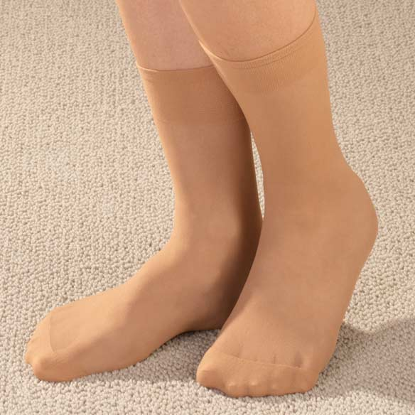 Diabetic Nylon Ankle Hose