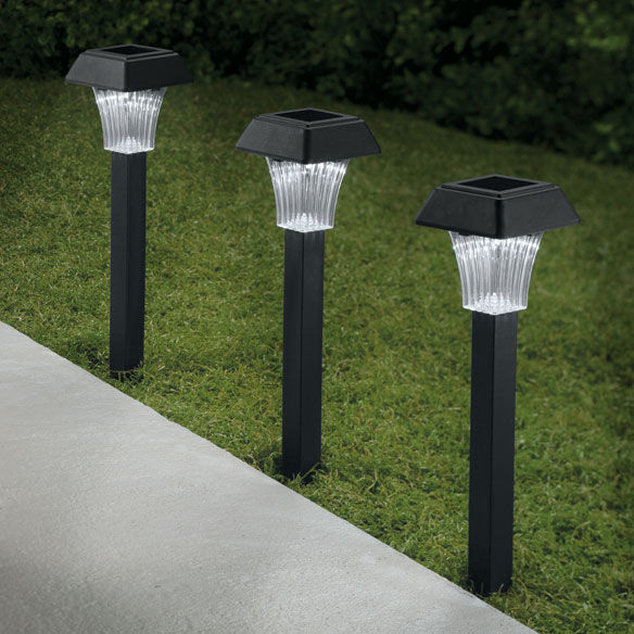 Set of 3 Pathway Solar Lights