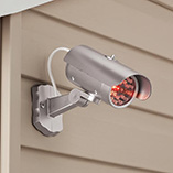 Lawn & Exterior Maintenance - Mock Security Camera