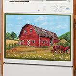 Decorative Counter - Barn Dishwasher Magnet