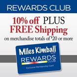 Top Items - Club Membership Miles Kimball Rewards