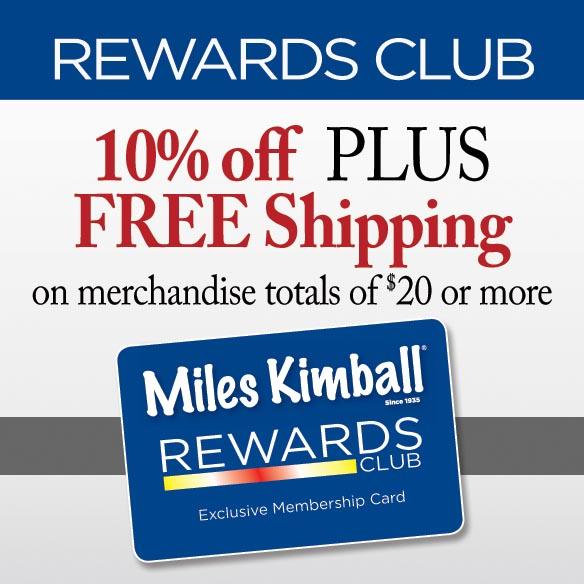 Club Membership Miles Kimball Rewards-347791