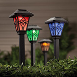 Outdoor Decor - Color Changing Solar Light