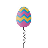 Easter - Jagged Easter Egg Yard Stake
