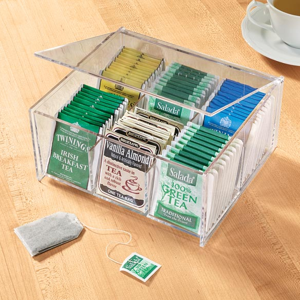 Acrylic Tea Bag Box