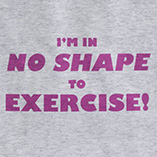 T-Shirts - Women's Exercise T-Shirt