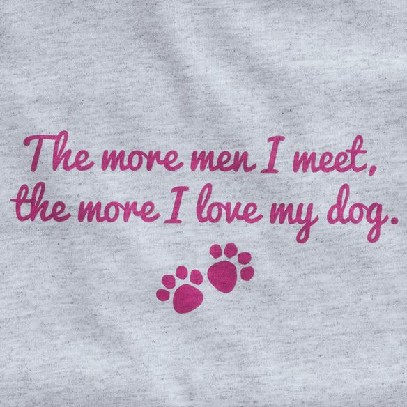 The More Men I Meet T-Shirt