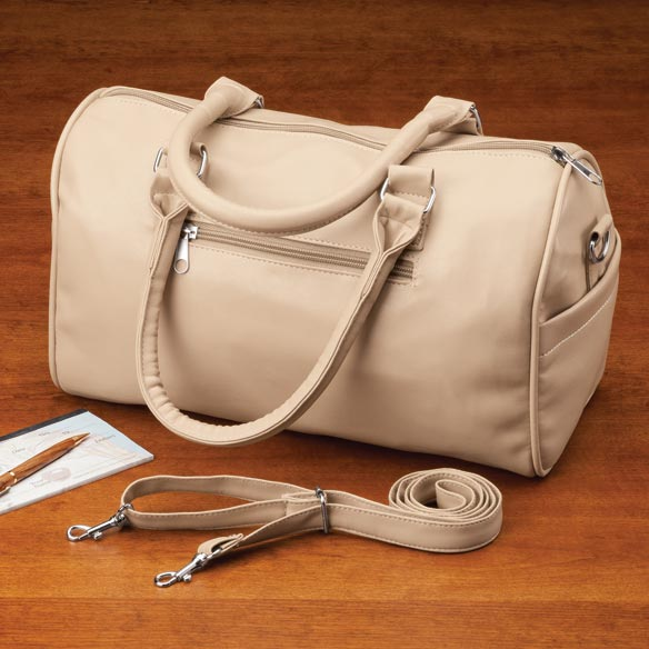 Soft Leather-Rich Satchel