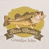 T-Shirts - Personalized Bass Master T-Shirt