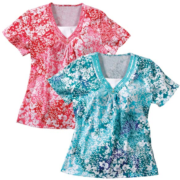 Short Sleeve Floral Shirts