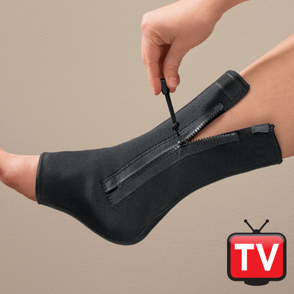 Compression Ankle Brace with Zipper