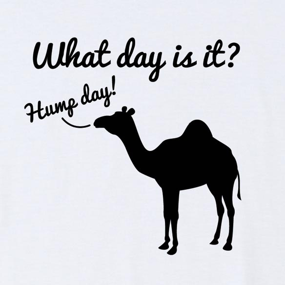 What Day Is It? T-Shirt - White