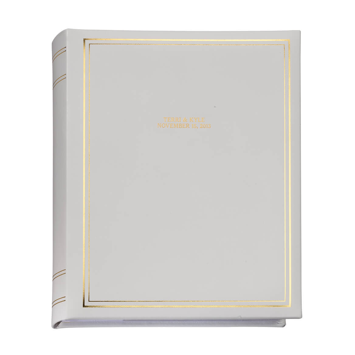 Ultimate Wedding Leather Memo Album Personalized-348140