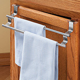 Kitchen Helpers - Expandable Cabinet Towel Bar