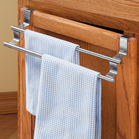 Expandable Cabinet Towel Bar