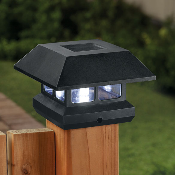 Post Cap Solar Light