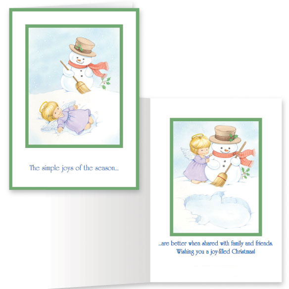Joys of the Season Non-Personalized Card Set of 20