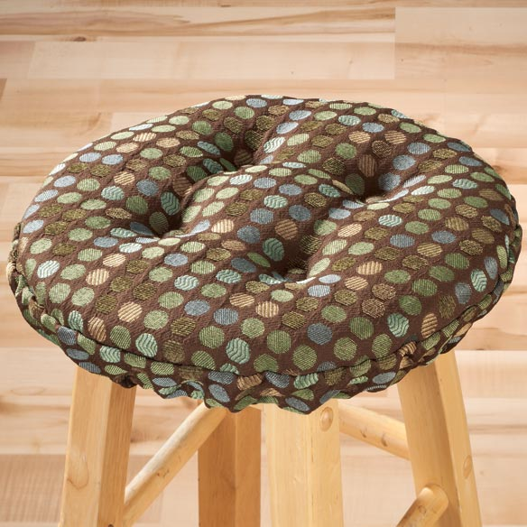 Dotty Bar Stool Cushion