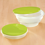 Kitchen - Round Collapsible Food Containers