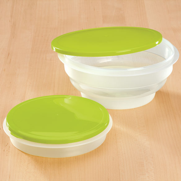 Round Collapsible Food Containers