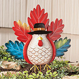 Thanksgiving - Metal Whimsical Turkey Stake