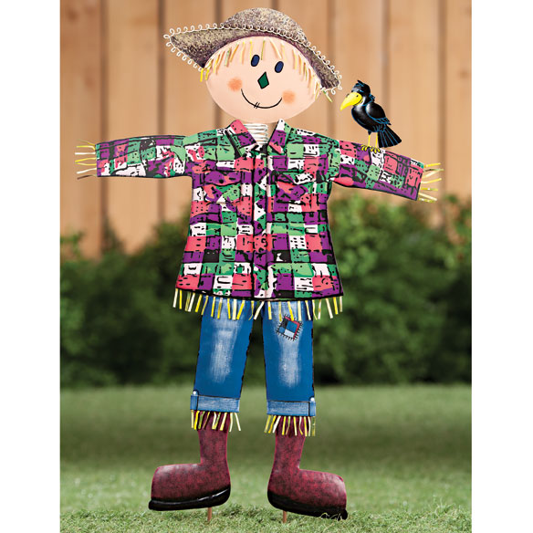 Scarecrow Metal Garden Stake